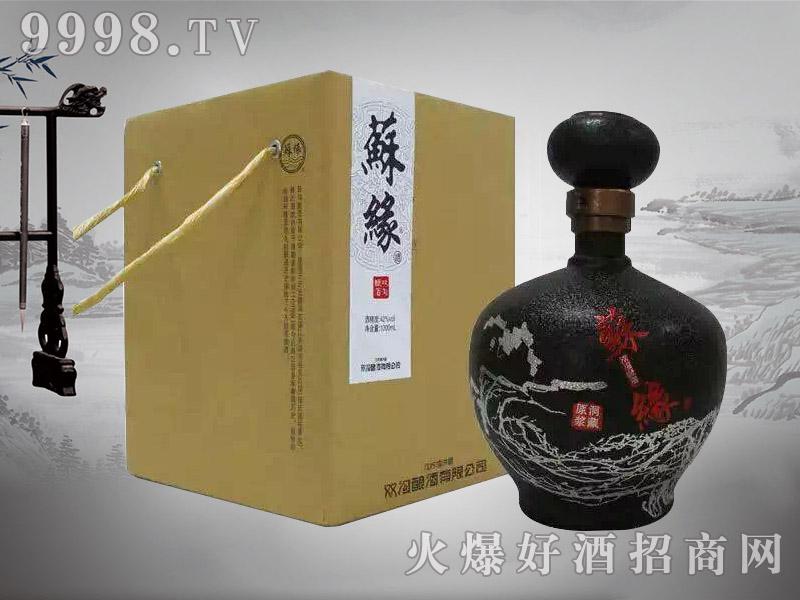 苏缘酒原浆洞藏42°1000ml浓香型白酒