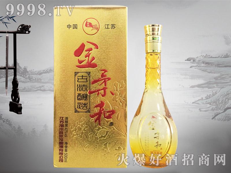 秦淮金柔和酒42°500ml浓香型白酒